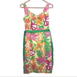 Lilly Pulitzer vintage flower dress size 4